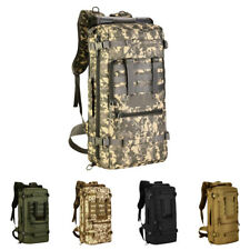 50L Camping Travel Rucksack Sport Outdoor Backpack Hiking Mountaineering Bag