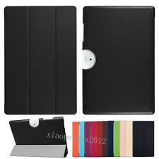 "Pu Leather Stand Book Flip Case Cover For 10.1"" Acer Iconia One 10 B3-A40 +Film"