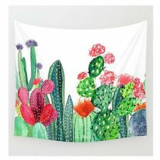Cactus Tapestry Headboard Home Decor Cactus Wall Hanging Art 51''x59''
