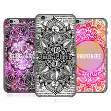 CUSTOM CUSTOMIZED PERSONALIZED MANDALA DOODLES BACK CASE FOR APPLE iPHONE PHONES