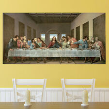 'The Last Supper' by Leonardo Da Vinci Graphic Art Print on Wrapped Canvas