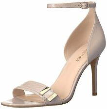 Nine West Womens Matteo Leather Open Toe Casual Ankle Strap Sandals