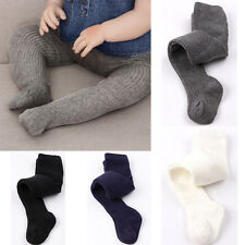 Baby Girls Toddler Kid Pure Color Warm Tights Stockings Pantyhose Pants Sock NEW