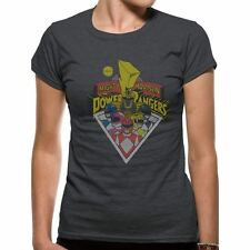 Women's Power Rangers Group Fitted T-Shirt