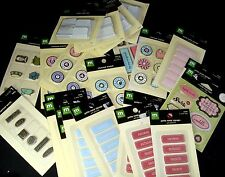 Making Memories METAL CHARM Embellishments YOUR CHOICE Scrapbook Paper Craft NEW