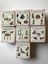 Liberty Falls Pewter Miniature Painted figurines for Western Village MULTIPLE SE
