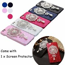 Luxury Bling Crystal Pearl Pendant Case Cover For iPhone 6 6S 4.7/ 6 6S Plus 5.5