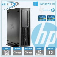 Cheap Quad Core i5 i7 PC HP 6200 Office Desktop Computer 1TB 16GB Windows 10