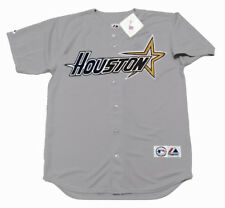 DARRYL KILE Houston Astros 1997 Majestic Throwback Away Baseball Jersey