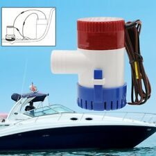 1100GPH 12V Great Submersible Marine Boat Bilge Water Pump With Float Switch