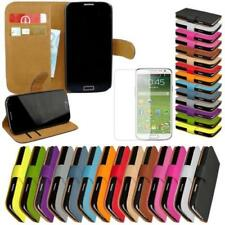 Samsung Galaxy S4 i9500 Flip Case Phone Cover Protective Case + Foil