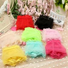 Womens Sexy Panties Briefs Lace Sheer Knickers  Lingerie Underwear-See Through