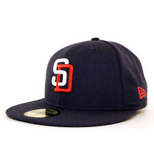 San Diego Padres New Era MLB Legacy Cooperstown Collection Blue Fitted Cap Hat