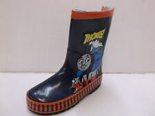 Good 2 Shoes Boys Thomas The Tank Engine Navy Rubber Pull On Wellies