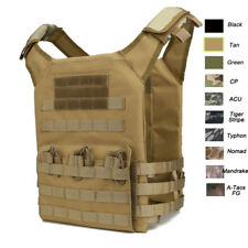Camouflage Body Armor Combat Assault Tactical Molle Vest Plat Carrier Vest