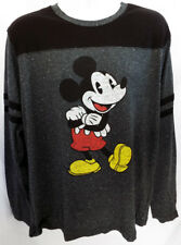 Mickey Mouse Long Sleeve T-shirt DISNEYLAND (Sizes) Official Disney Heather