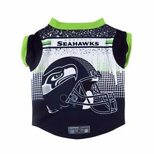 Seattle Seahawks Helmet Dog Shirt NFL Football Official Licensed Pet Product