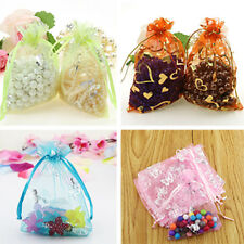 Pack Festive Supplies Candy gauze bag Jewelry Organza Bags Wedding Candy Pouches