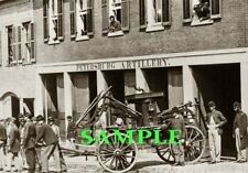 1865 UNION ARMY FIREFIGHTERS Civil War Photo