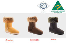 UGG Australia Tidal 3/4 Fox Women Ugg Boots 3-Colour Options RRP $235.00