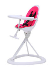 Ickle Bubba Orb Baby Highchair Feeding Chair in Pink on White