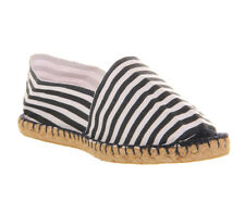 Mens Office Solemate Espadrilles NAVY STRIPE Casual Shoes