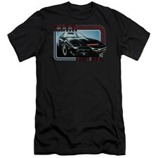 Knight Rider Kitt Mens Slim Fit Shirt