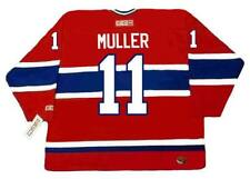 KIRK MULLER Montreal Canadiens 1993 CCM Throwback Away NHL Hockey Jersey