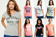 New Womens Superdry Tshirts Selection - Various Styles & Colours 1110