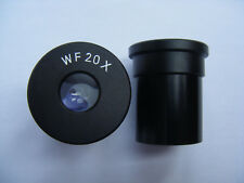 20X 25X Wide Angle Biological Microscope Eyepiece Huygens Eyepiece 23.2mm Mount