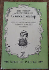 First Edition Book The Theory Practice Of Gamesmanship 1947 Vintage Antique Golf