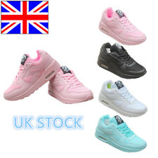 UK Ladies Lace up Casual Lightweight Jogger Sneaker Trainer Running Shoes Size