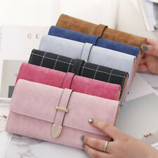 Women Bifold PU Leather Wallet Clutch Phone Card Holders Purse Lady Long Handbag
