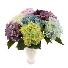Artificial Silk Peony Flower Arrangement Hydrangea DIY Wedding Decor 8 Colors