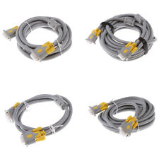 Connectors HD15 Male to Male VGA Long Video Monitor Cable for Projector PC