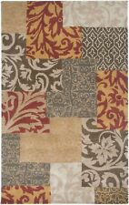 Rizzy Rugs Bentley Hand-Tufted Wool Rust Persian Area Rug