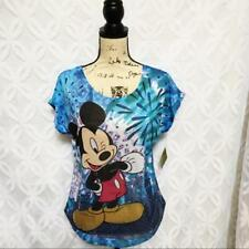Disney Mickey Mouse Wink Embellished Dolman Tee - Juniors Size S