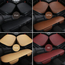 3Pcs/Set Universal Car Seat Cover PU Leather/Velvet Pad Mat Auto Chair Cushion