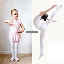 Arshiner New Children Girls High Elastic Stockings Dance Footed Tights RLWH