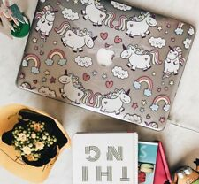 Unicorn hard case for MacBook Air Pro Retina 15, 13, 12 Touch Bar