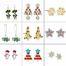 Lovely Christmas Xmas Dangle Stud Claus Earrings Ear Womens Jewelry Party Gift
