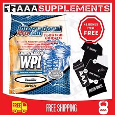 International Protein | Amino Charged WPI | 907g | Protein Whey Supplement WPI