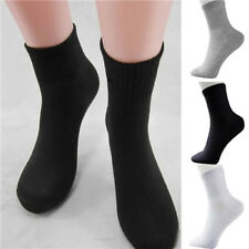 5 Pairs Men's Socks Thermal Casual Soft Cotton Sport Sock Gift 3 Colors