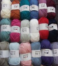 5 x 100g Balls of Sirdar No1 Double Knitting Wool/Yarn for Knitting/Crochet