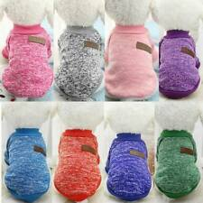 Warm Dog Clothes Puppy Outfit Pet Jacket Soft Winter Coat Small Dogs Sweater New