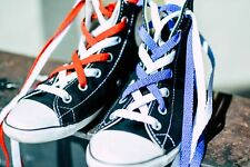 Mercury + Maia Flat Athletic Shoelaces 2 Pair Pack - For Sneakers & Tennis Shoes