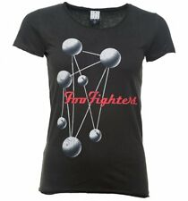 Official Women's Charcoal Foo Fighters The Colour And The Shape T-Shirt from Amp