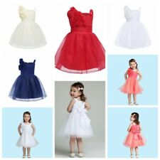 Flower Girl Baby Tutu Communion Formal Party Wedding Bridesmaid Princess Dress