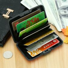 Waterproof Business ID Credit Card Wallet Holder Aluminum Metal Case Box
