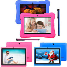 """7"""" 16GB Quad Core Camera WIFI Tablet For Kids Bundle Case Best Gift Xmas 2017 US"""